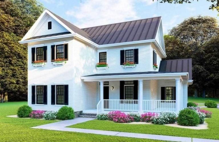 Modular Home Rendering